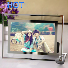W Free Shipping Glass Crystal Frame Table 6 inch 7 inch 8 inch 10 inch A4 Creative Studio Frame Certificate Photo Frame(China (Mainland))