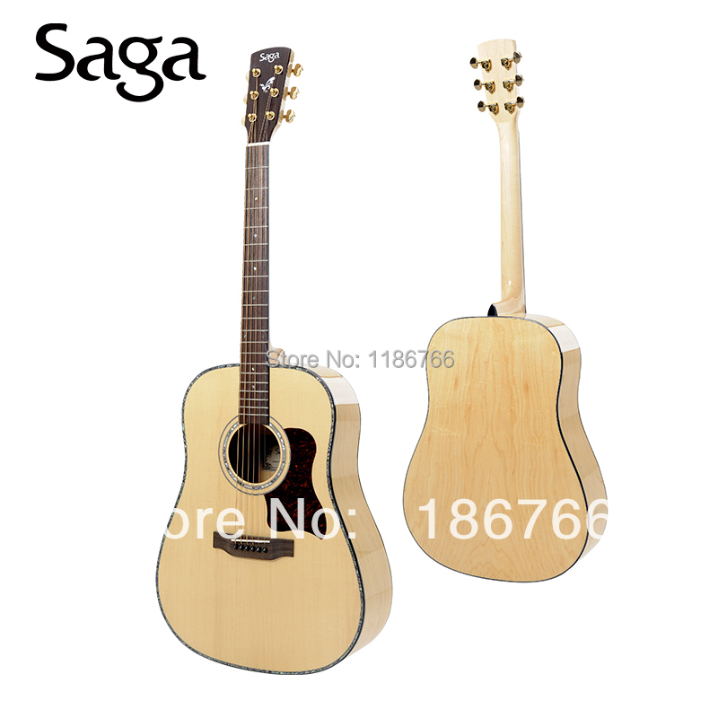 Free Shipping chinese custom acoustic guitar for sale with reasonable price , DM100(China (Mainland))