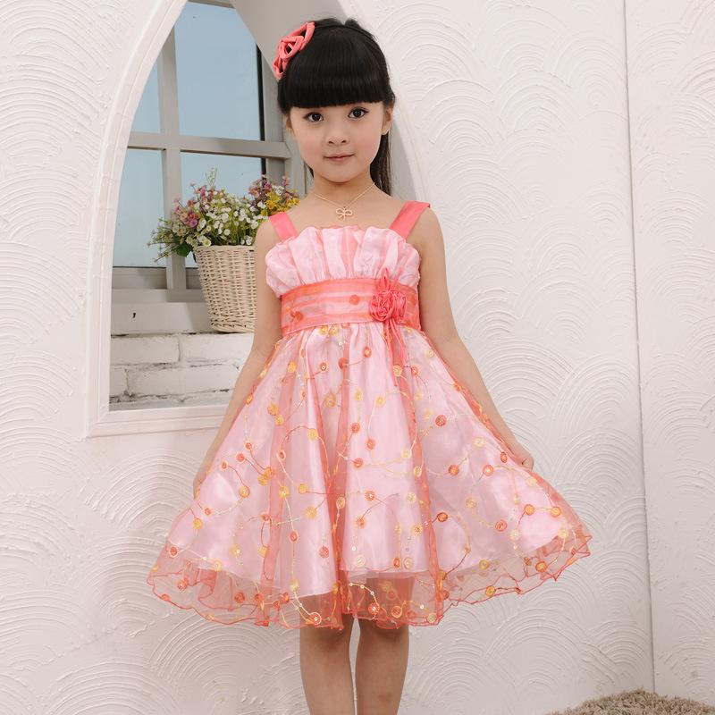 Summer Dress for Girls 2015 Princess Dress Summer Style Girls Party Dresses,for 100cm-150cm Kids Dresses for Girls<br><br>Aliexpress