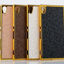 M4 Aqua Case Luxury 3D Electroplating Gold Frame Football Skin Plated PC Hard Back Cover Sony Xperia E2303 E2333 - Global Trading(Eden store Co.,Ltd )
