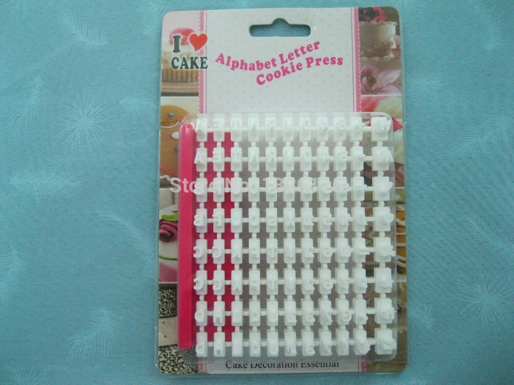 Cake Decorating Letterpress : Aliexpress.com : Buy Fondant Press Sets Make Any Message ...