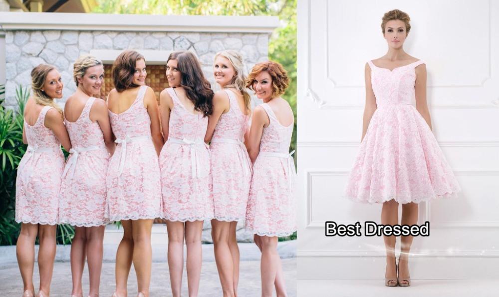 Real Person Cream Bridesmaid