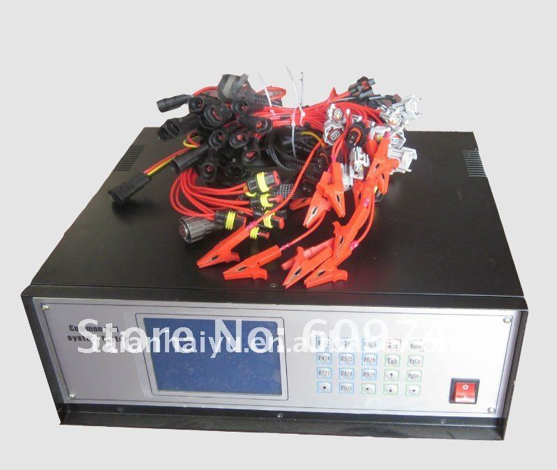 Support English, Russian, Chinese,common rail injector and pump, model: CRS3 tester(China (Mainland))