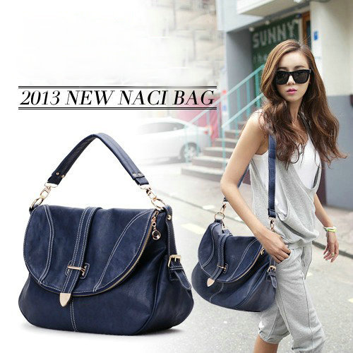 Real Leather Women's Handbag Big Bags Brief Casual Messenger Bag