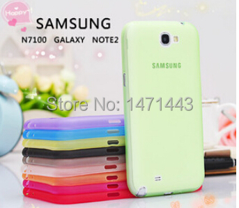 Soft PP Back Case Cover Samsung Galaxy Note II 2 N7100 PPN2G - Phone P&A Store store