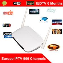 Cheap Iptv Set Top Box Q9 Ott Tv Box Android4.4 With Six Months Free Iudtv Iptv Subscription Iptv Account Sky DE IT UK Free Test