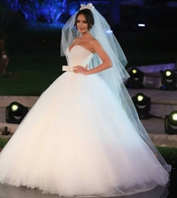 Buy Luxury Crystal Beaded White Ball Gown Wedding Dresses 2016 Princess Plus Size Country Western Wedding Gowns Bride Bridal Dress for $162.00 in AliExpress store