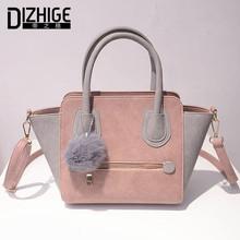 2016 Frühling Smiley PU-Leder-Einkaufstasche Frauen Trapeze Mode Designer-Handtaschen Hohe Qualität Damen Taschen Vintage Crossbody Taschen(China (Mainland))