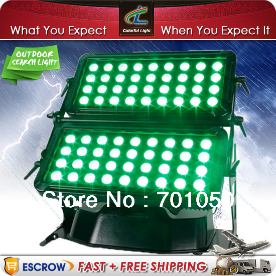 IP65 72pcs 8W 4in1 high power waterproof LED Wall Wash