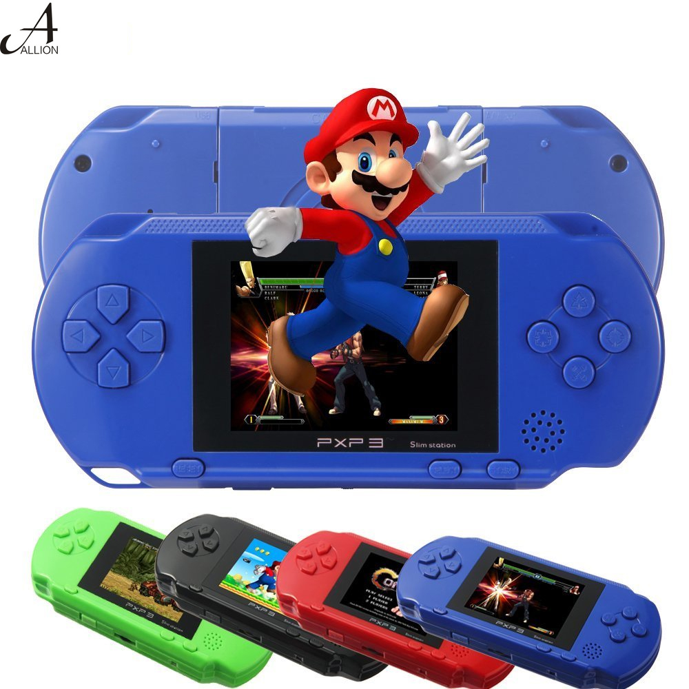New Handheld Game Players Console 1G Built-in Games 16 Bit Retro Portable Video Game Player with 2 Game Cards for Kids--PXP 3(China (Mainland))