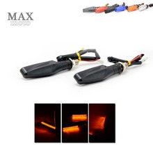 Buy Motorcycle LED Turn Signal Indicators Lights Universal flashers motocross light triumph tiger 800 1050 rocket iii street tri for $7.59 in AliExpress store