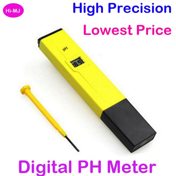 2015 High Accurate Digital PH Meter LCD Pocket Pen PH Water Tester for Laboratory Aquarium Pool Drinking Water(China (Mainland))