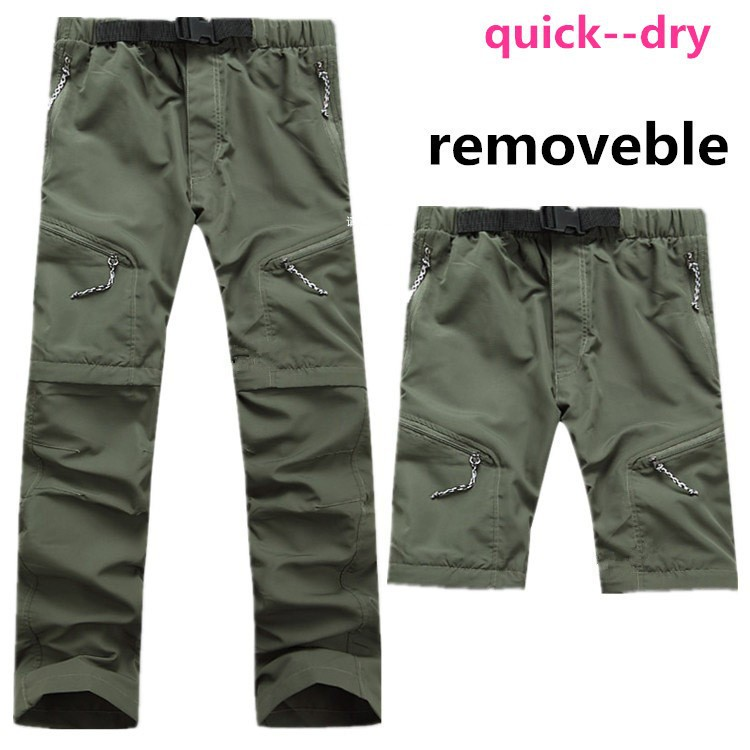 buy outdoor summer removable pants men