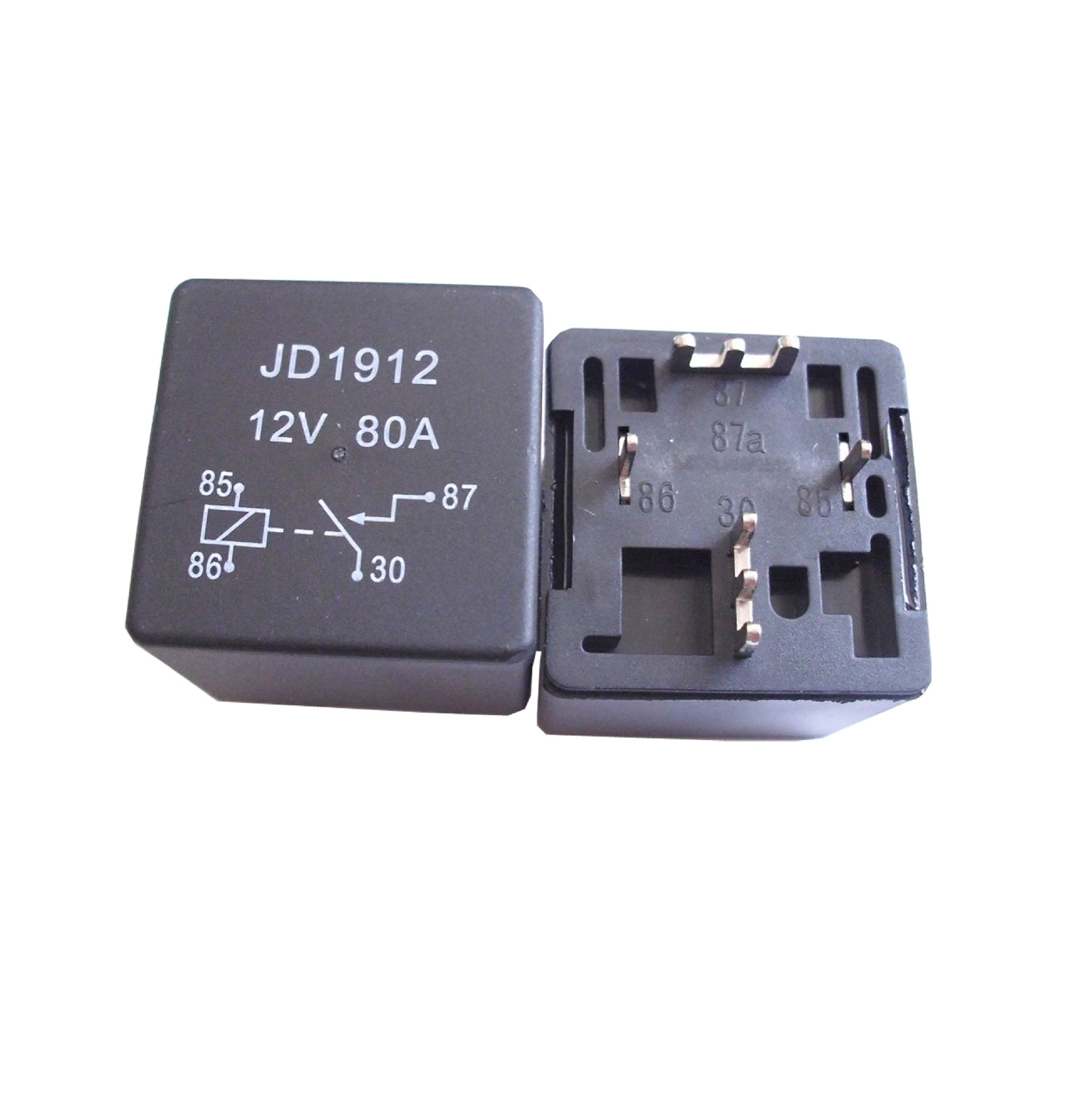 80A high current automotive relay S10HJ-12A shear pin PCB stitch(China (Mainland))