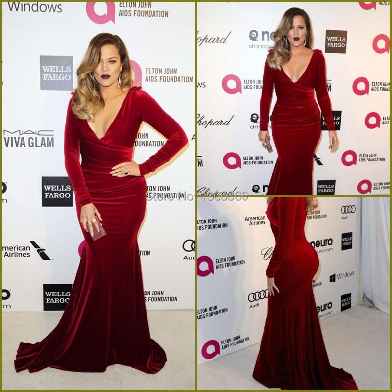 Plus size velvet evening dress - Best Dressed