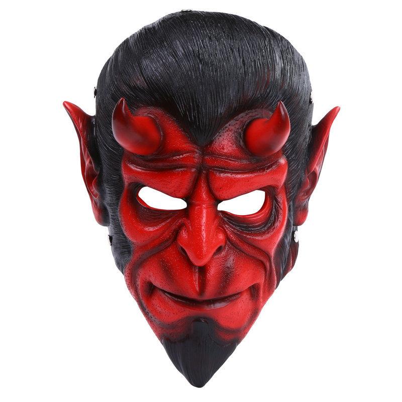 cosplay Hellboy Halloween mask dance COS realistic horror devil cartoon resin hand model gift