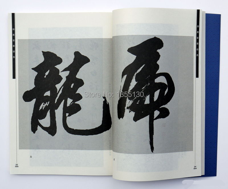 Buy chinese five characters font brush calligraphy
