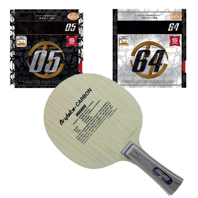 VISCARIA 30041 Table Tennis Blades / Racket / ping pong blade / rubber T 64 / 05 FX / T 80 / YASAKA / MARKV / DHS (Long Handle)(China (Mainland))
