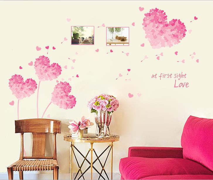 Removable Wall Stickers For Kids Rooms Cozy  Decorated Bedroom Wall Stickers Home Decor Living Room TV Background Wall Decal