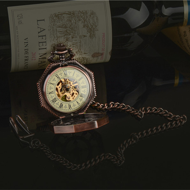 Mechanical Pocket Watch Luxury