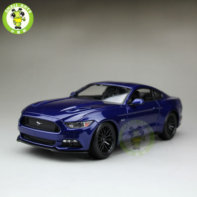 1:18 2015 Ford Mustang GT 5.0 diecast car model for gifts collection hobby Blue maisto 31197(China (Mainland))