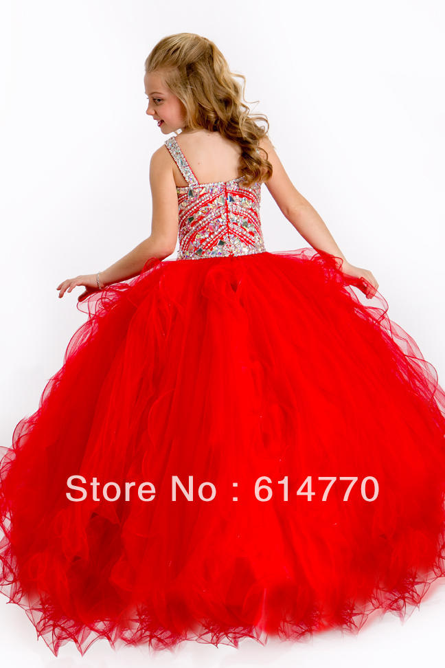 Red Bridesmaid Dresses For Little Girls Wedding Dress Little Girl
