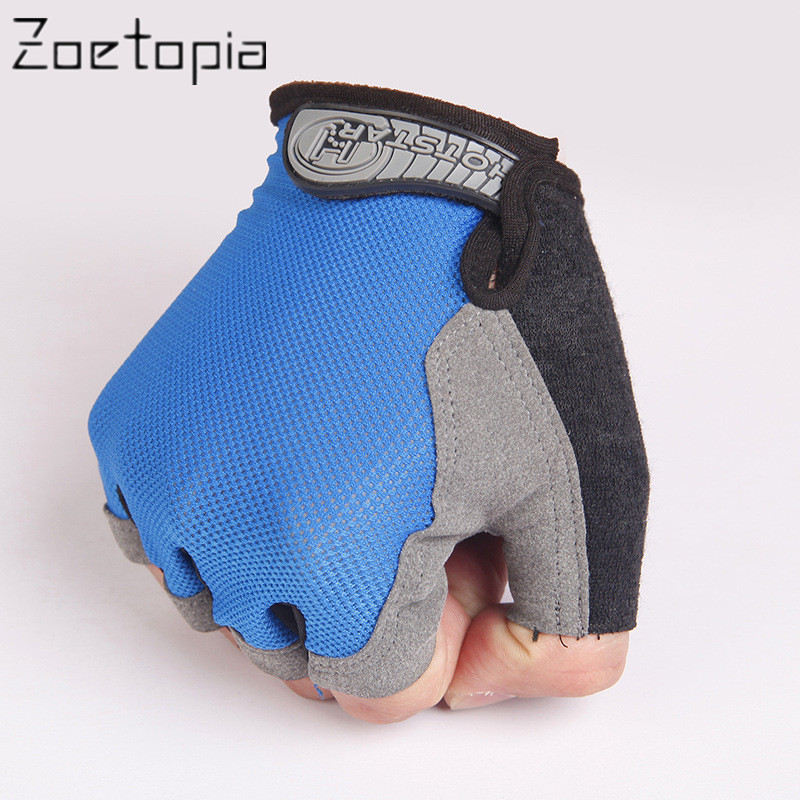 High Quality Team Summer Half Finger Gloves Weight Lifting Gym Gloves Exercise Sports Fishing Skiing Gloves Mitts Mittens