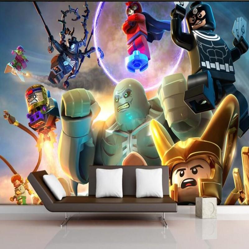 lego papier peint promotion achetez des lego papier peint promotionnels sur. Black Bedroom Furniture Sets. Home Design Ideas