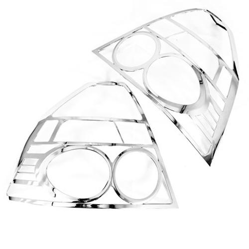 Chrome Styling Tail Light Cover Trim for Chevrolet Aveo T250 Sedan(China (Mainland))