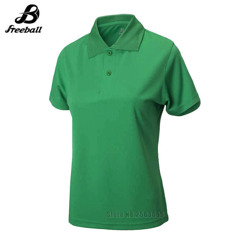2017/18 good quality badminton polo t shirts jerseys women tennis shirts polyester materials 8 colors available for women shirts(China (Mainland))