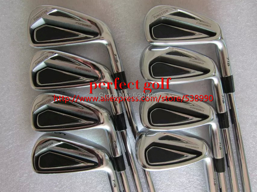 2016 New AP Golf Irons 2 Clubs 716 Golf Forged Irons With Project X6.5 Steel Shaft Golf 716 Irons Set DHL Free Shipping(China (Mainland))
