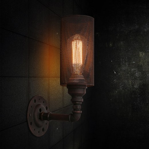 Фотография Loft Style Vintage Wall Light Fixtures Industrial Wind Edison Wall Sconce For Bedside Water Pipe Wall Lamp Home Lighting