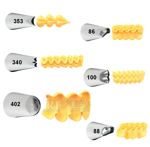 401 Sun Flower Icing Tip Nozzle Cake Baking Tools Pastry Tools Stainless Steel Decorating Tip