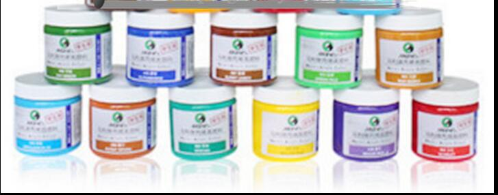 Wall paint hand-painted textiles acrylic Paints 1color=1piece=1bottle=100ML=5.5USD message: what color you need(China (Mainland))