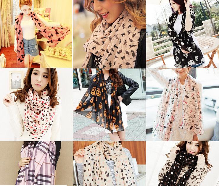 2014 NEW Fashion fall-summer ice silk Scarf women winter warm Tassel Scarf Wrap Shawl scarves(China (Mainland))