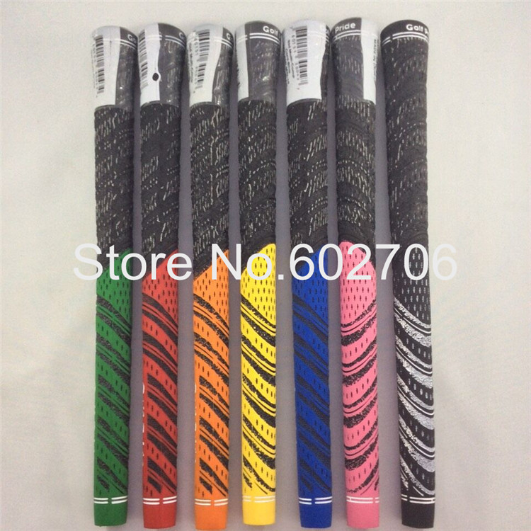 10pcs/lot New Golf Club Grips Decade Multi Compound Grips For Golf Irons Or Wedge Free Shipping Mixed Color(China (Mainland))