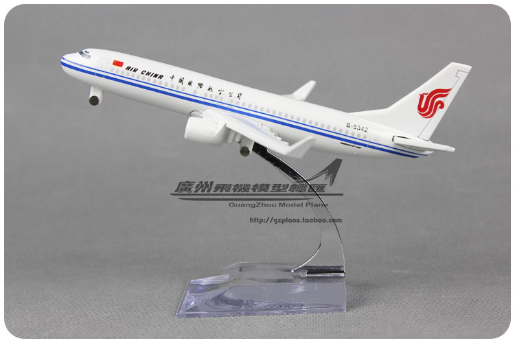 16cm 1:250 Air China Plane Model Boeing B737 800 Airlines Alloy Airplane Model Kids Toy Gift Collections Free Shipping(China (Mainland))