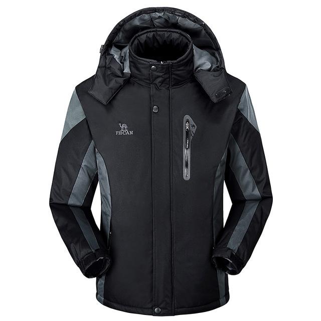 2016 оптовая продажа большой размер марка теплый мужская куртка открытый толстые ...
