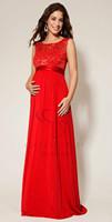 Мода 2015 беременных женщин короткие рукава длинные вечернее платье материнства беременных элегантные свадебные платья кружево с ленты