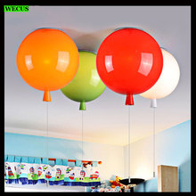 Fashion balloon lamp E27 bulb household ceiling light bedroom dining room living room children lamp shade