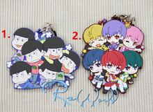 Anime Portachiavi Osomatsu-san figures Osomatsu,OSO,KARA ,CHORO,ICHI,JYUUSHI,TODO Bag Pendnat phone strap pendant toys