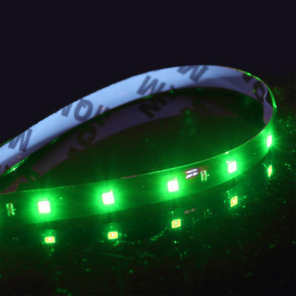 waterproof car auto decorative flexible led strip highpower 12v 30cm 15smd car led daytime. Black Bedroom Furniture Sets. Home Design Ideas