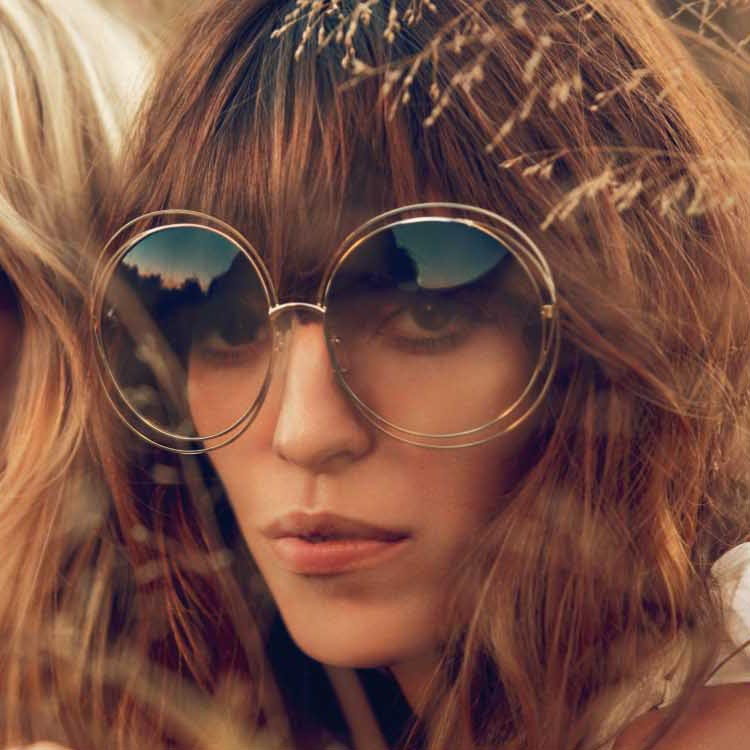 Wire Frame Glasses Trend : 4-Colors-Elegant-Round-Wire-Frame-Coating-Glasses-Eyewear ...