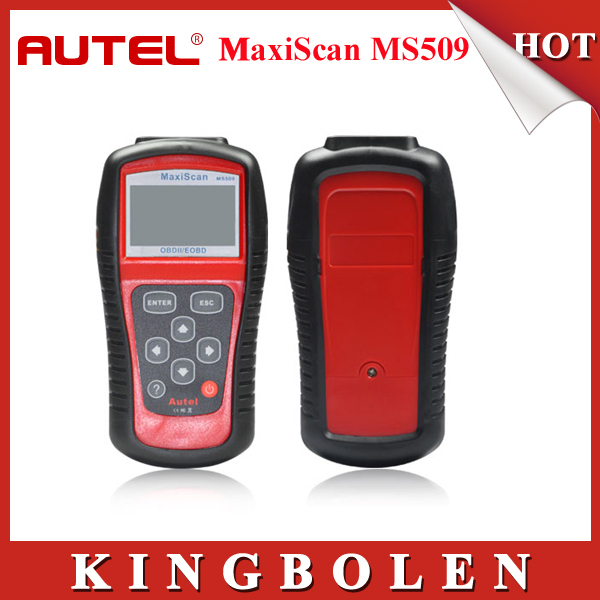 2015 Hot Selling Autel MaxiScan MS509 OBDII / EOBD Auto Code Reader Fit For US&Asian & European Vehicles MS 509 Free shipping(China (Mainland))