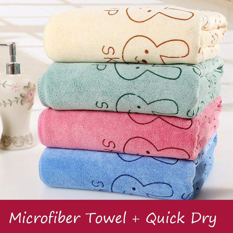 1Pcs 70CM*140CM Quick Dry Towel 2015 New Cute Bath Towel Character Microfiber Towel For Adults Toalha de banho Toalla Microfibra(China (Mainland))