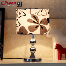 2015 new simple and stylish lighting lamp / bedside lamp / Fabric bedroom lamp touch switch(China (Mainland))