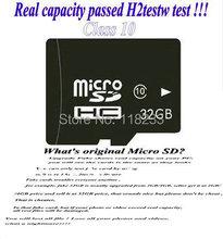 free shipping wholesale memory card  2GB 4GB 8GB 16GB 32GB 64GB high speed class 10 micro sd hc card + Free adapter + USB reader