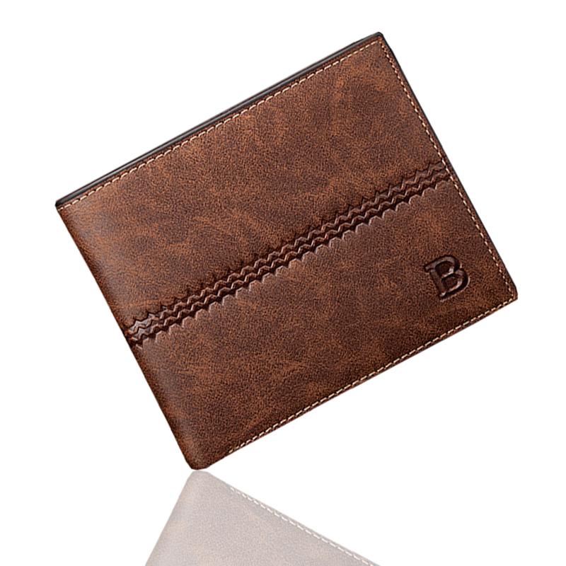 men wallets famous brand new 2016 mens wallet male money purses New classic soild pattern designer