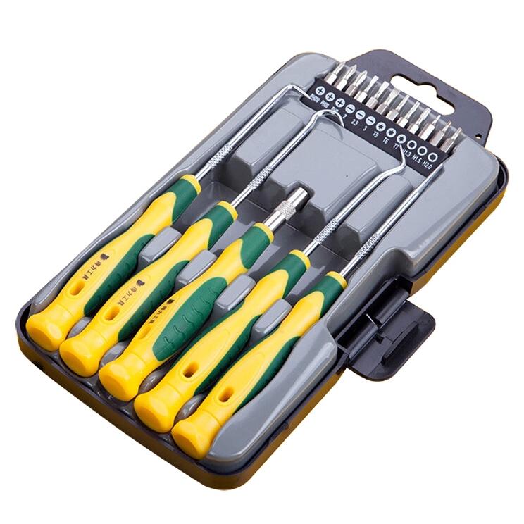 High-end 17-grade Screwdriver Set Kit Mobile home computer repair tools screwdriver<br><br>Aliexpress