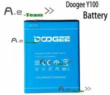 Doogee валенсия 2 Y100 аккумулятор 100% оригинальный высокое качество 2200 мАч литий-ионная батарея резервного копирования для DOOGEE валенсия 2 Y100 бесплатная доставка